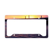 Evening View of Muroto Misaki License Plate Holder