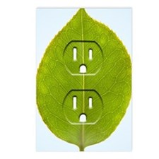 Electrical outlet indente Postcards (Package of 8)