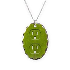 Electrical outlet indented in  Necklace