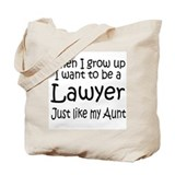 WIGU Lawyer Aunt Tote Bag