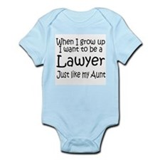 WIGU Lawyer Aunt Infant Bodysuit