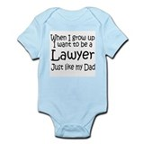 WIGU Lawyer Dad Infant Bodysuit
