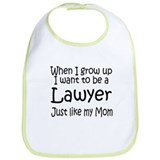 WIGU Lawyer Mom Bib