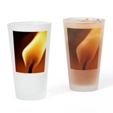 Candle flame Drinking Glass