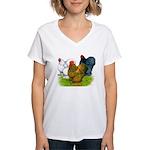 Assorted Cochins Women's V-Neck T-Shirt