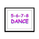 5-6-7-8 Dance Framed Panel Print