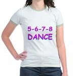 5-6-7-8 Dance Jr. Ringer T-Shirt