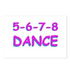 5-6-7-8 Dance Postcards (Package of 8)