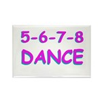 5-6-7-8 Dance Rectangle Magnet (100 pack)