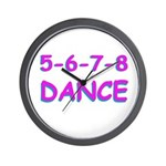 5-6-7-8 Dance Wall Clock