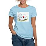 White Japanese Bantams Women's Light T-Shirt