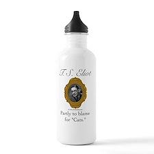 T. S. Eliot Water Bottle