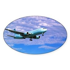 Airplane in Sky Decal