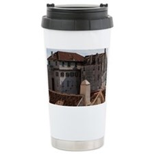 Old buildings in Split Croatia Ceramic Travel Mug
