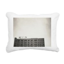 Trees growing on top of  Rectangular Canvas Pillow
