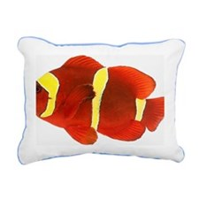 Spine-cheek anemonefish  Rectangular Canvas Pillow