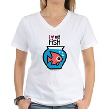 I Love My Fish Shirt