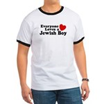 Everyone loves a Jewish Boy Ringer T