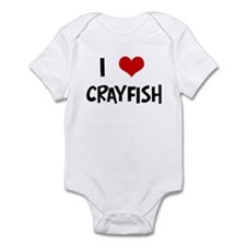 I Love Crayfish Onesie