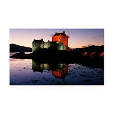 Eilean Donan castle three Rectangle Car Magnet