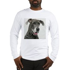 Great Dane, close-up Long Sleeve T-Shirt