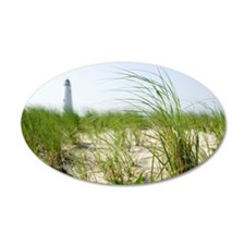 Grass on beach Wall Decal