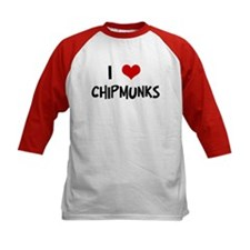 I Love Chipmunks Tee