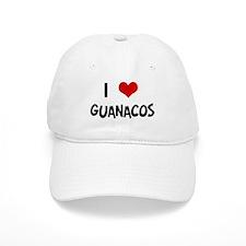 I Love Guanacos Baseball Cap