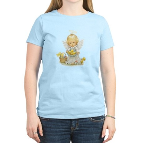 Easter Angel Women's Light T-Shirt