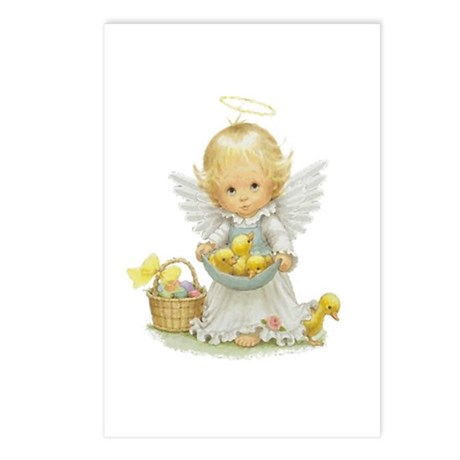Easter Angel Postcards (Package of 8)