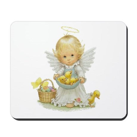Easter Angel Mousepad