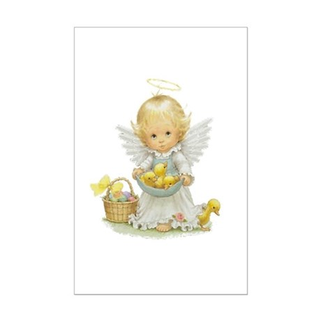 Easter Angel Mini Poster Print