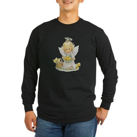 Easter Angel Long Sleeve Dark T-Shirt
