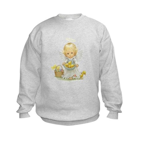 Easter Angel Kids Sweatshirt