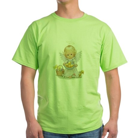 Easter Angel Green T-Shirt
