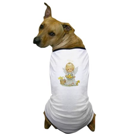 Easter Angel Dog T-Shirt