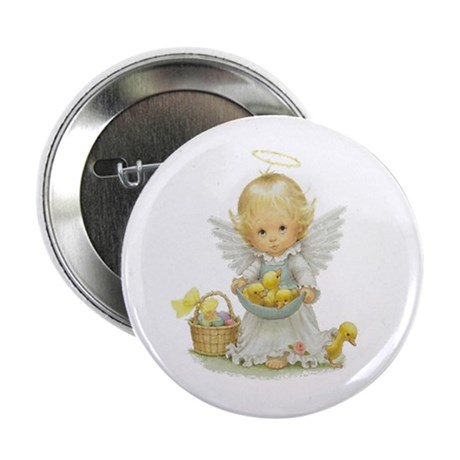 "Easter Angel 2.25"" Button (100 pack)"
