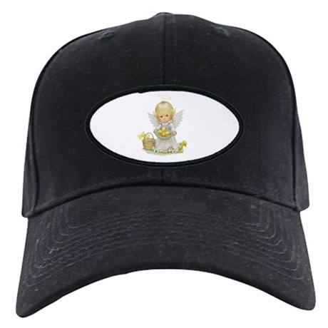 Easter Angel Black Cap
