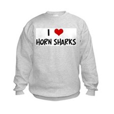 I Love Horn Sharks Sweatshirt