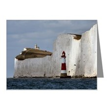 Beachy Head Lighthouses Note Cards (Pk of 10)
