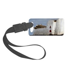 Beachy Head Lighthouses Luggage Tag