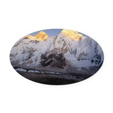 Nepal, Himalayas, Mt Everest and M Oval Car Magnet