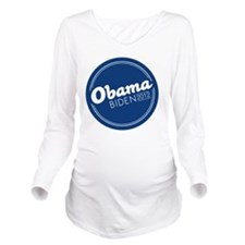 Obama Biden Long Sleeve Maternity T-Shirt