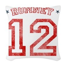 Romney 2012 Woven Throw Pillow
