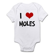 I Love Moles Infant Bodysuit