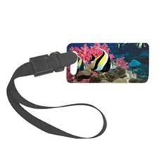 Moorish idol Zanclus comutus ove Luggage Tag
