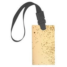 Glass of champagne with bubbles, Luggage Tag