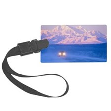 USA, Alaska, Summit, vehicle on  Luggage Tag