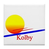 Kolby Tile Coaster