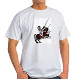 Spirit of St. George Ash Grey Tee (Approx £13.50)
